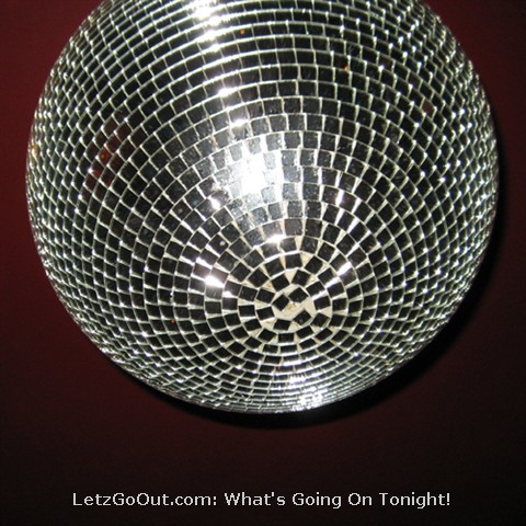 A disco ball, just to start the party off...