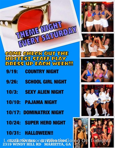 Theme Night @ Dixie Tavern
